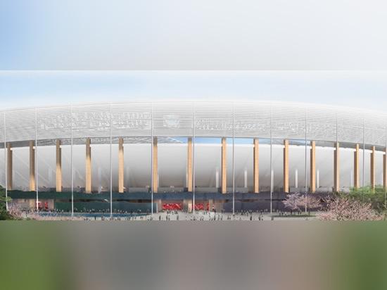 las columnas permiten que la estructura sienta tan ligera y tan transparente como sea posible