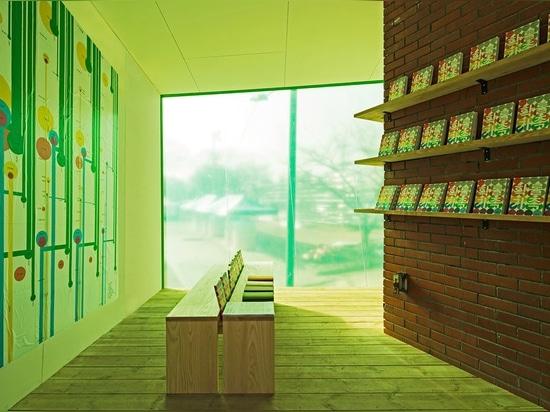 Biblioteca móvil de SpaceTong (ArchiWorkshop)