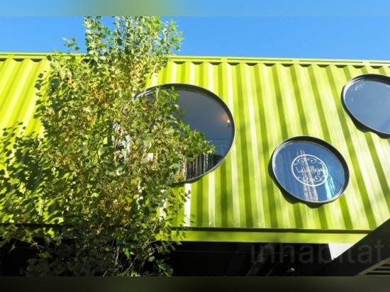 La alameda brillante y en negrilla del contenedor de QUO se origina en Buenos Aires