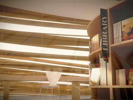 una biblioteca incluye espacios para apoyar varios arranques