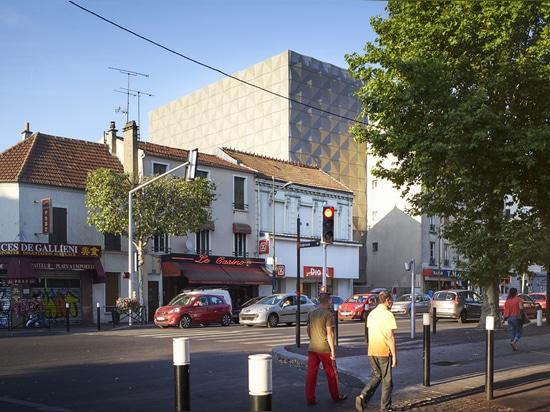 Architectes de Lankry, escuela de danza Aurélie Du Pont, Joinville-le-Pont, Francia