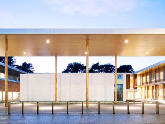 ¿El centro cubierto con paja extraordinario de la empresa puede ser el Reino Unido? el edificio más verde de s nunca