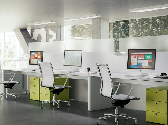 NUEVO: escritorio del sitio de trabajo de Fantoni