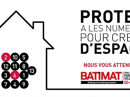 Protek® will attend you at Batimat Paris Nord Villepinte  2015