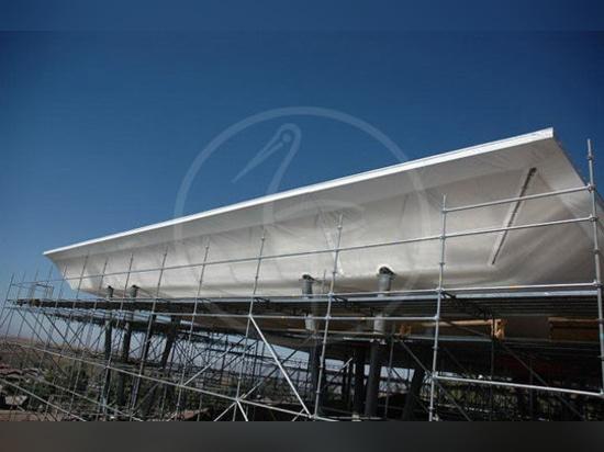 NUEVO: metal la estructura extensible apoyada marco de s.r.l. de la INGENIERÍA del P.M. - PLASTECOMILANO