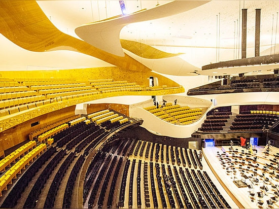 Figueras y Jean Nouvel crean una butaca única para la Philharmonie de París