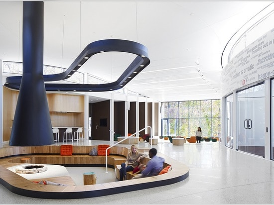 El centro del Arcus fue diseñado para incorporar la idea de la justicia social, dice a la cuadrilla de Jeanne