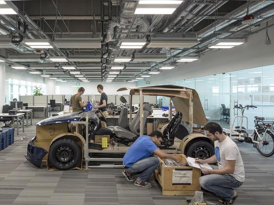 Espacio de la investigación del vehículo eléctrico