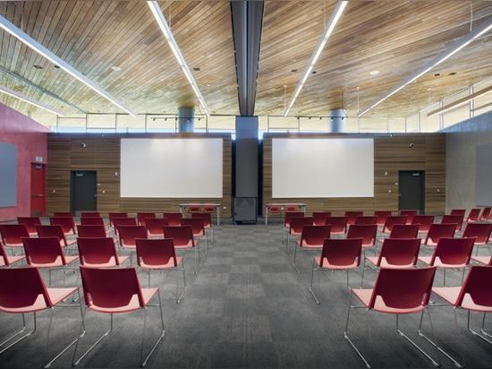 Vista de las salas de reunión
