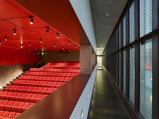 Nuevo auditorio de 200 asientos (© de la foto: Timothy Hursley)
