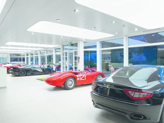 Zumtobel destaca brillante la concesión de coche superior en Valais
