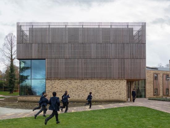 el crocker de tim del © de la imagen del edificio de la música
