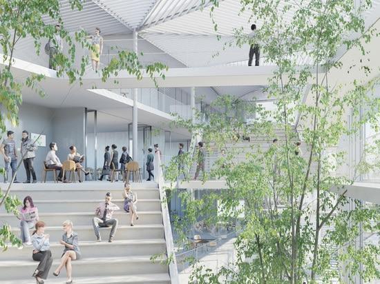 el complejo de 10.000 metros cuadrados recibirá a 150 miembros del personal y de 2.000 estudiantes