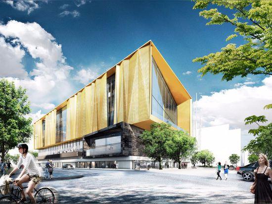 Nueva biblioteca central en Christchurch