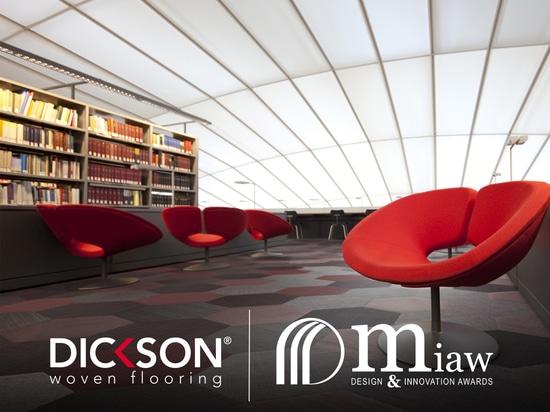 Dickson gana el premio de MIAW para su nueva colección que suela tejida