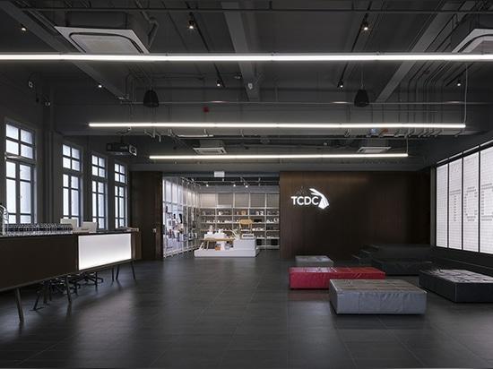 el departamento del TCDC de la arquitectura presenta un espacio para que la sociedad enganche a creatividad