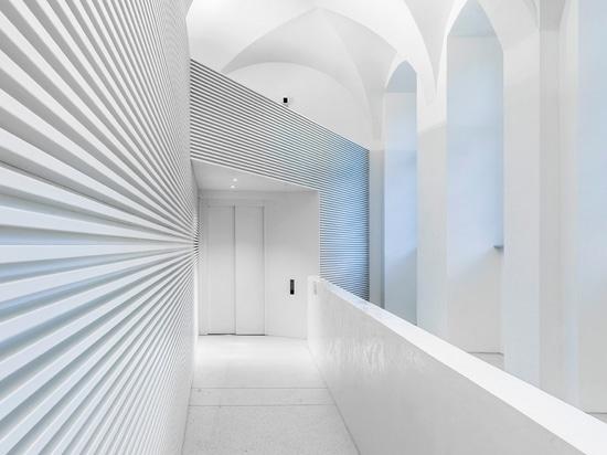 Nuevo centro del estudio y de conferencia en la Escuela de Negocios de Mannheim con una solución de iluminación individualizada de Zumtobel