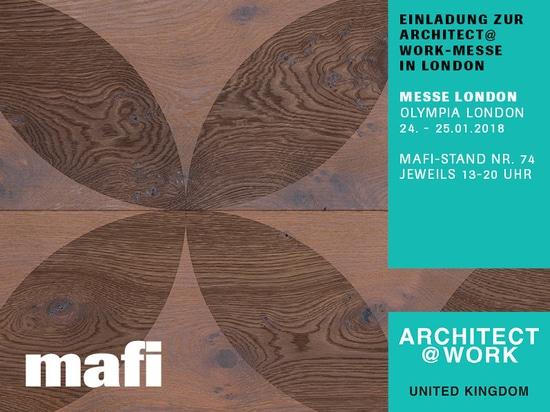 mafi en la exposición Architect@Work en Londres