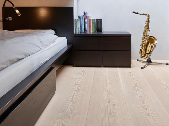Apartamento del chalet equipado con la madera de Douglas del natur del pur
