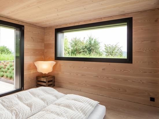 La casa del natur del pur en Suiza