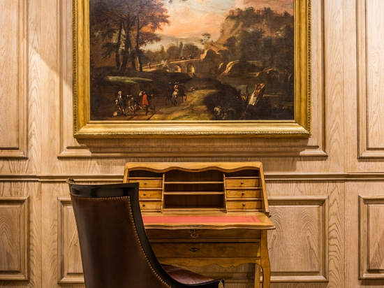 Oficina Inglesa lanza las primeras imágenes de su nueva sala de exposición en el centro de concepción Chelsea Harbour