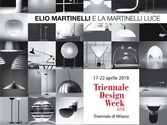 Elio Martinelli y Martinelli Luce, la exposición en el La Triennale