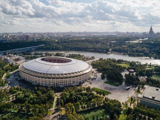 Estadio histórico de Luzhniki de Moscú restaurado para el mundial 2018