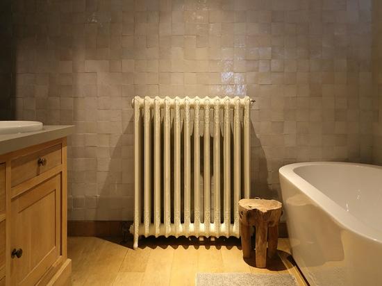 Calentamiento de una casa feliz