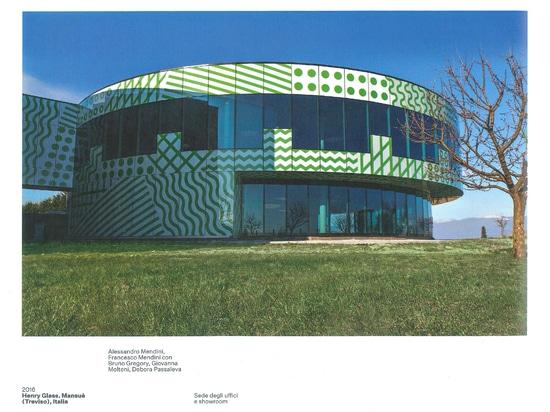 """Henry glass en el """"taller Mendini. Architetture"""""""