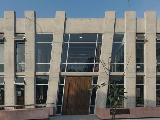 Biblioteca de la comunidad de Biblioteca Sur de los diseños de Gonzalez Moix en Lima