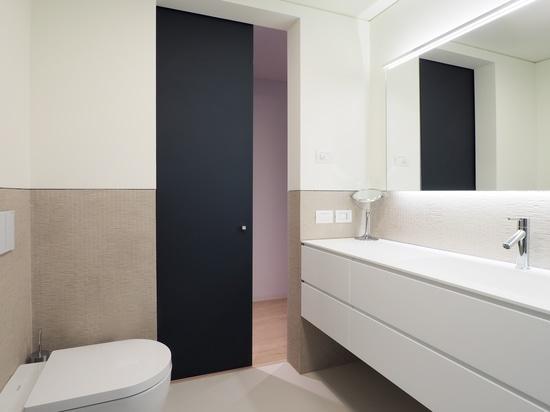 Los finales de doble cara aumentan el diseño de la puerta deslizante de la pared del externall de Vitra