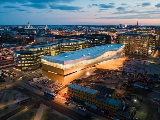 Oodi - biblioteca central de Helsinki