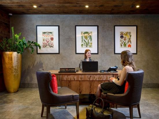 """Bompas y el Parr crea la habitación de hotel del vegano del """"mundo primer"""""""
