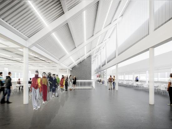 El Royal College del arte en Londres anuncia que edificio de Herzog & de Meuron y campus de Kensington restaura