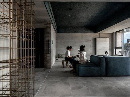 Apartamento del 'ojo azul' en Taiwán: Un canto de júbilo minimalista al valor inapreciable de la naturaleza