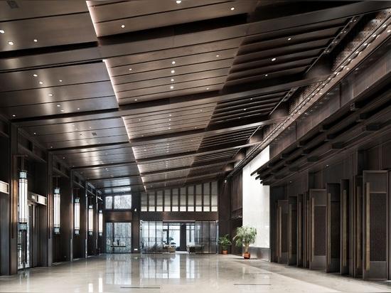 UAD - Pasillo multiusos del hotel de Shaoxing