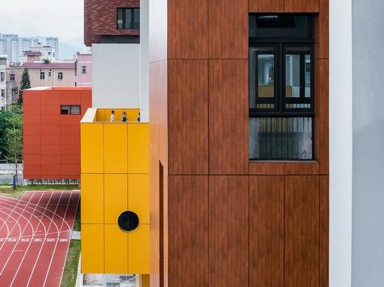 el zhubo-aao y el diseño de H traen el aprendizaje al aire libre colorido enseñar en Shenzhen