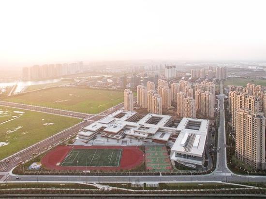 el taller Z + y D-más estudio anima a niños a socializar en la escuela primaria de Suzhou