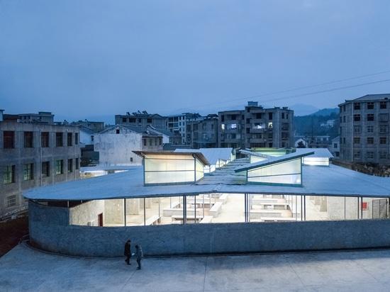 Teatro de la comida fresca/descripción del estudio de la arquitectura