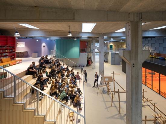 Escuela secundaria popular/MVRDV + COBE del festival de Roskilde