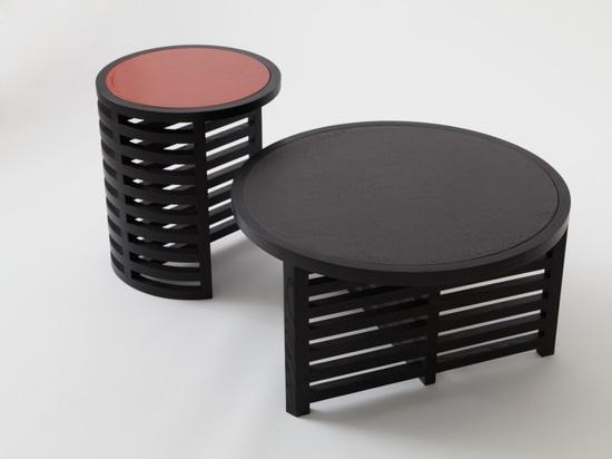 Mesas de Pastilla Minimalista de Vonnegut Kraft con Natalie Weinberger