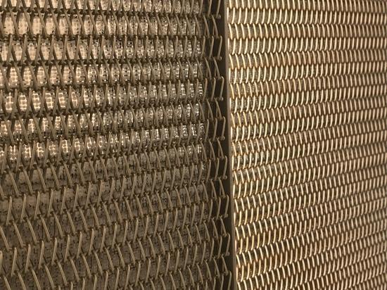 Malla metálica para arquitectura modelo Mies