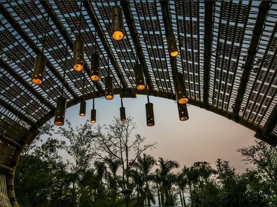 Bamboo Tide Pavilion / Shenzhen Beryl Diseño de Arte Ambiental