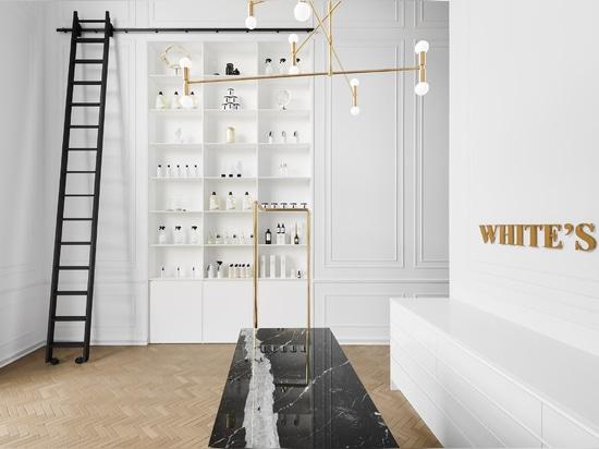 Ivy Studio modela las tintorerías de Montreal en un apartamento parisino