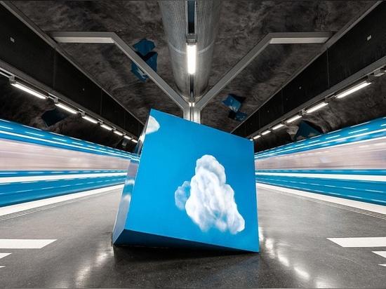El Libro de Fotos Explora el Sistema Único del Metro de Estocolmo