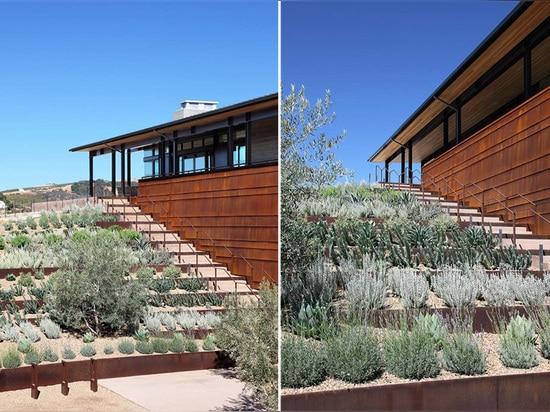 Los arquitectos de la BARRA diseñan el lagar de la ley en California