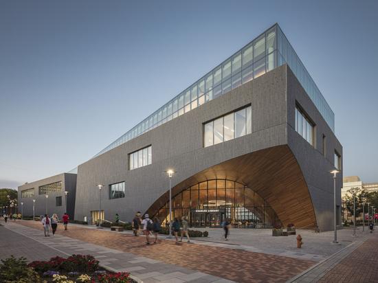 Biblioteca Charles en Temple University / Snøhetta