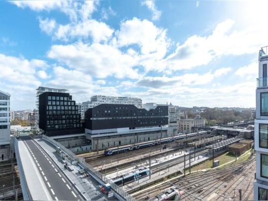 Eco-Distrito de Clichy-Batignolles en París