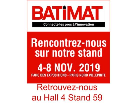 BATIMAT feria en Villepente en Paris Hall 4 E59