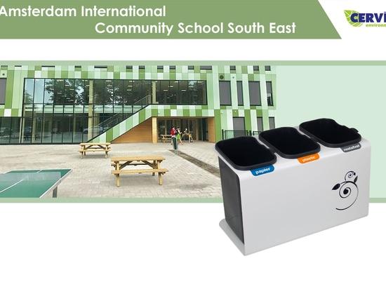 Amsterdam International Community School South East recicla con Cervic Environment